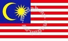 Bendera Malaysia 3x6feet (cotton)