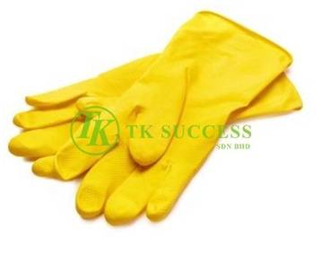 Yellow Rubber Glove