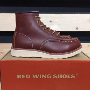Red Wing 8875 Moctoe Boots Red Color Shoes