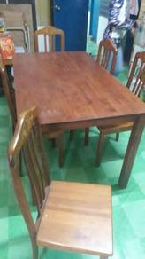 Jati Style 6 Seater Wooden Dinning Table TH350