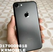 Iphone -7- matte black -128gb- murah