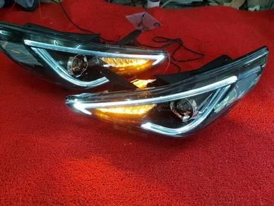 Hyundai sonata led headlamp head lamp light lights