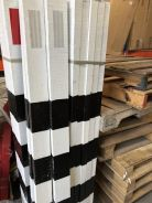 Wooden timber delineator post JKR