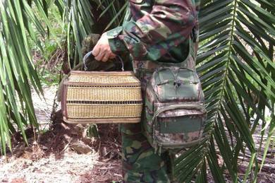 Swat bag - Molle tactical military camo