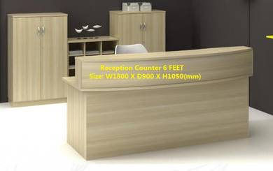 Office Reception Counter 1800mm 6 ft