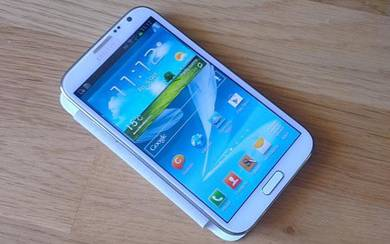 Samsung galaxy note 2 tiptop fullset