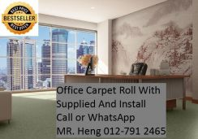OfficeCarpet Roll- with Installation C14B