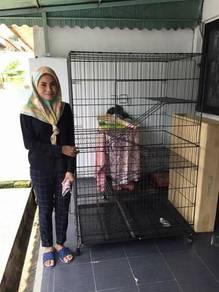 Sangkar / Cat cage 4 tingkat