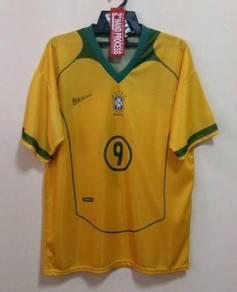 Rare jersey brazil fans version no 9 ronaldo