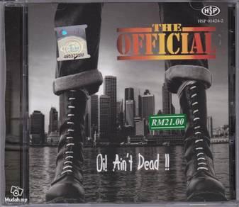 CD THE OFFICIAL Oi Ain't Dead