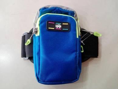 Egogo Running Sports Arm Phone Bag - Saphire Blue