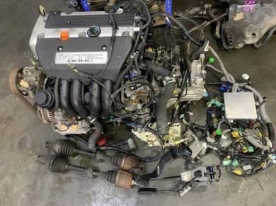 Honda K20A DC5 ES3 Manual 5 Speed Engine Set Kswap