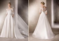 White wedding bridal dress gown RB1653