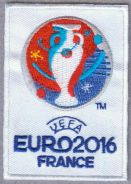 2016 15th UEFA Euro European Championship Patch