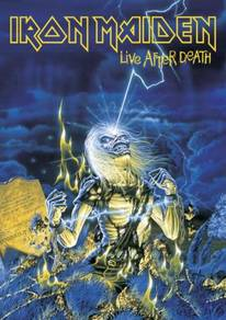 Poster IRON MAIDEN LIVE AFTER DEATH