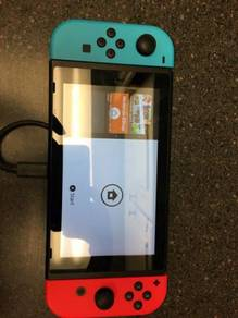 Nintendo Switch - 32GB Console And Charger