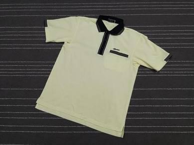 Vintage Ellesse golf polo tee SAIZ m to L