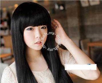 Lady Wig Long Straight Lovely Hair - LL495 BLACK