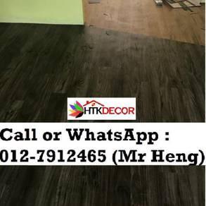 Natural Wood PVC Vinyl Floor - With Install 36XT