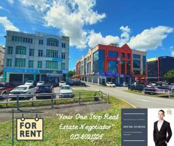 For Rent : Ground Floor Commercial Shophouse at Jalan Kereta Api