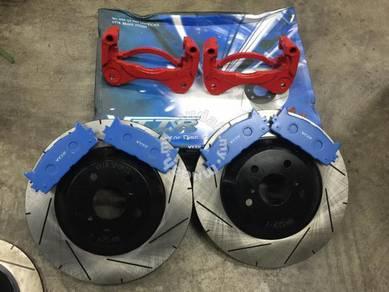 Vttr oversize kit front for toyota camry vellfire
