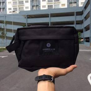 Clutch stoned full black
