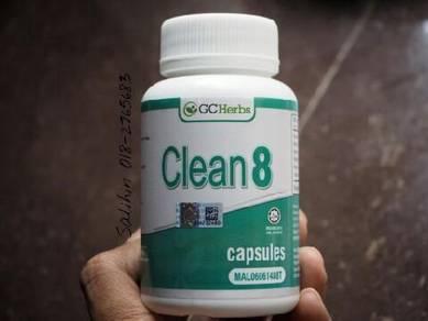 Clean8 Kapsul untuk senang kurus