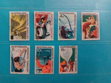 Set of 7 Australia stamps