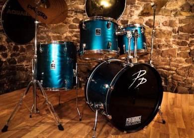 Drum Kit   Paiste 302 Cymbals