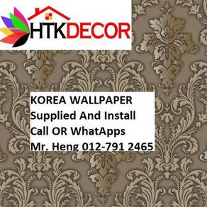 3D Korea Wall Paper with Installation 1FV