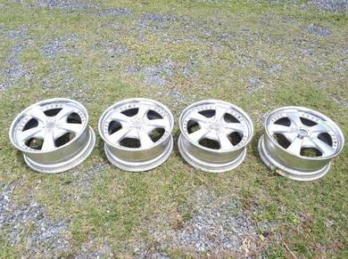 W work Ls 17inci 4x100 made in japan