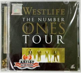 Westlife - The Number Ones Tour VCD