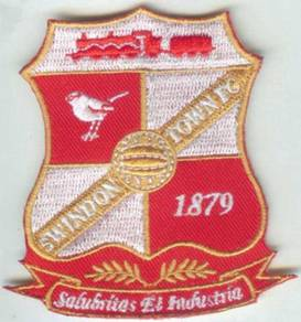 Swindon Town Football England Premier League Patch