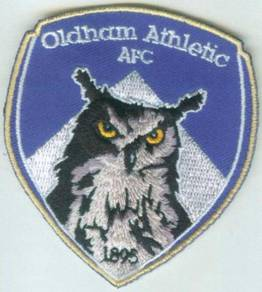 Oldham Athletic Association AFC Football EPL Patch