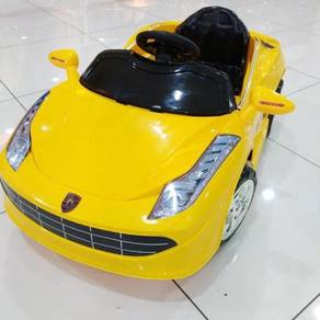 Kids children kereta with remote sports car