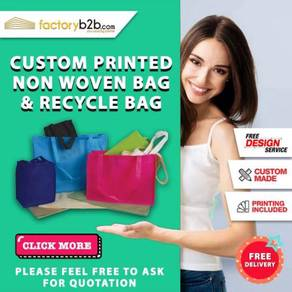 Non woven recycle cotton paper fabric jute bag