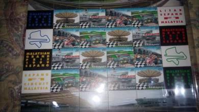 Malaysian Grand Prix 1999 stamp sheetlet mint