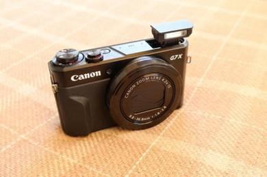Canon G7x mark ii powershot camera