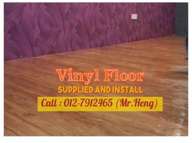 Beautiful PVC Vinyl Floor - With Install 63BQ