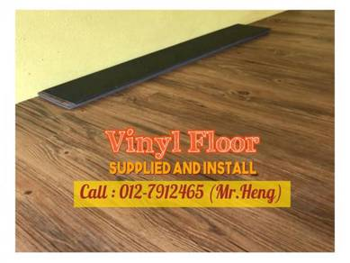 Quality PVC Vinyl Floor - With Install HJ53