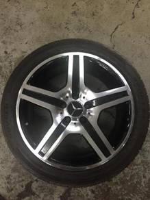 Sport Rim Tyre 18 AMG Model For Mercedes Benz