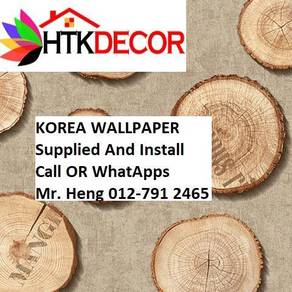 Pretty Wallcovering with Installation11ZX