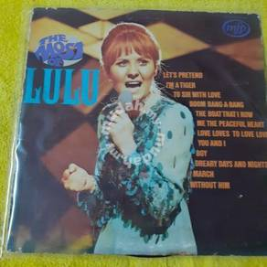 EEQ lp The Most of Lulu piring hitam vinyl