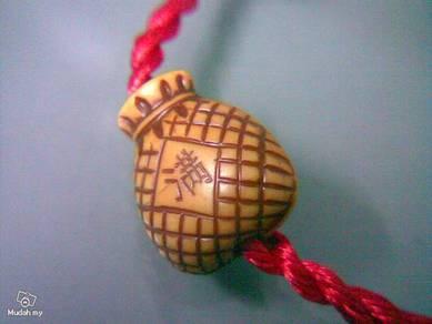 ABBP-F001 Plastic FU Basket Pendant Bracelet
