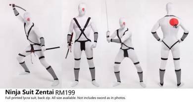 Ninja Costume Lycra Zentai Suit