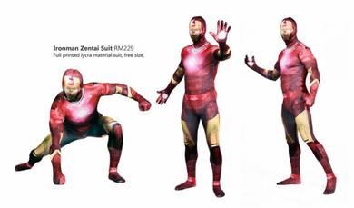 Ironman Costume Suit