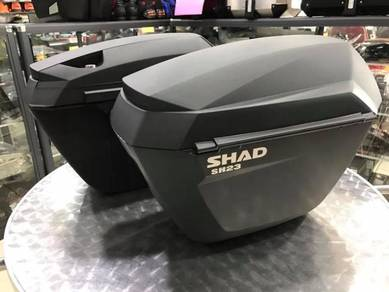 Shad Side Case SH23 ~ Kawasaki Z650 ABS