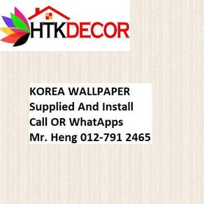 3D Korea Wall Paper with Installation 423GW