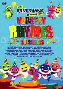 DVD Baby Shark Nursery Rhymes 50 Songs