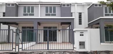100% Loan. 2 tingkat Teres di Bdr Puteri Jaya